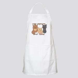 Personalized Cat Person Apron