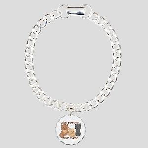 Personalized Cat Person Bracelet