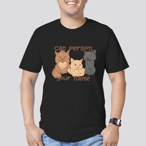 Personalized Cat Person T-Shirt