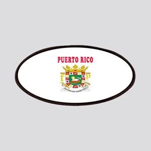 Puerto Rico Coat Of Arms Designs Patches