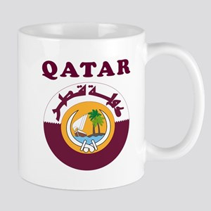 Qatar Coat Of Arms Designs Mug