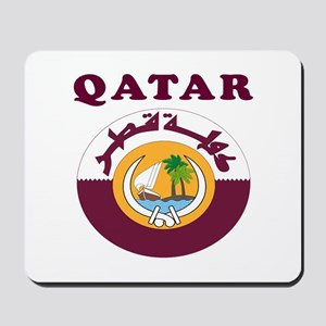 Qatar Coat Of Arms Designs Mousepad