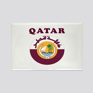 Qatar Coat Of Arms Designs Rectangle Magnet