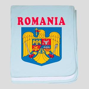 Romania Coat Of Arms Designs baby blanket