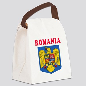 Romania Coat Of Arms Designs Canvas Lunch Bag