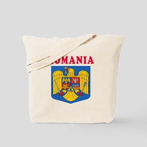 Romania Coat Of Arms Designs Tote Bag