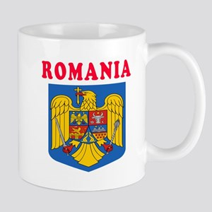 Romania Coat Of Arms Designs Mug