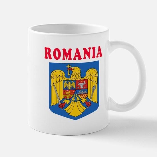Romania Coat Of Arms Designs Mug