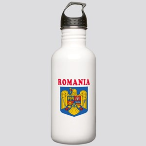 Romania Coat Of Arms Designs Stainless Water Bottl