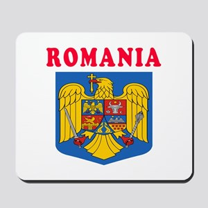 Romania Coat Of Arms Designs Mousepad
