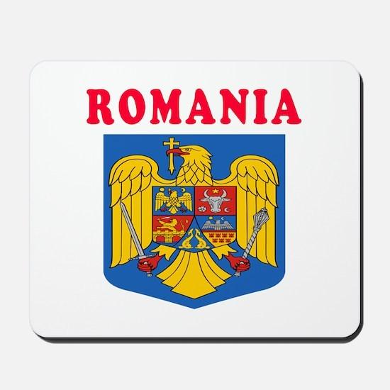 Romania Coat Of Arms Designs Mousepad