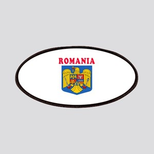 Romania Coat Of Arms Designs Patches