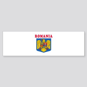 Romania Coat Of Arms Designs Sticker (Bumper)