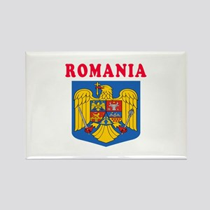Romania Coat Of Arms Designs Rectangle Magnet
