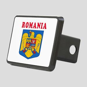 Romania Coat Of Arms Designs Rectangular Hitch Cov
