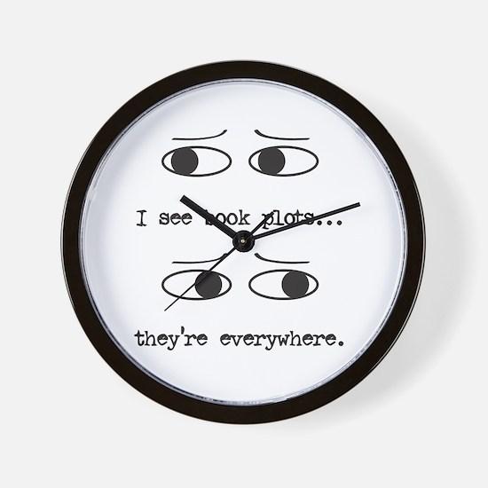 I See Book Plots - Wall Clock