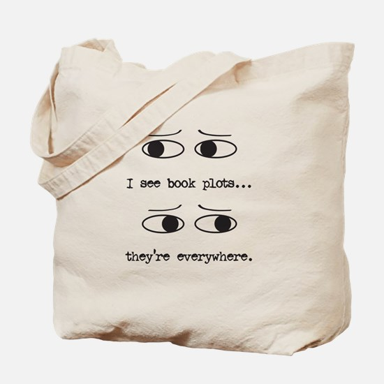 I See Book Plots - Tote Bag