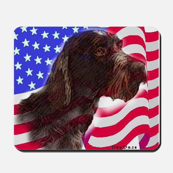 gwp with flag Mousepad