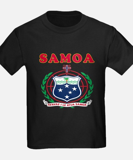 Samoa Coat Of Arms Designs T