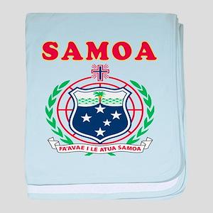 Samoa Coat Of Arms Designs baby blanket