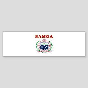 Samoa Coat Of Arms Designs Sticker (Bumper)