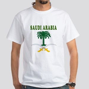 Saudi Arabia Coat Of Arms Designs White T-Shirt