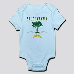 Saudi Arabia Coat Of Arms Designs Infant Bodysuit