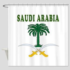 Saudi Arabia Coat Of Arms Designs Shower Curtain