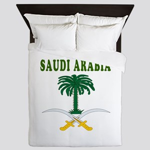 Saudi Arabia Coat Of Arms Designs Queen Duvet
