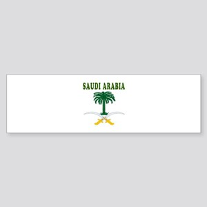 Saudi Arabia Coat Of Arms Designs Sticker (Bumper)