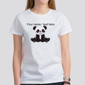 Custom Cute Panda T-Shirt