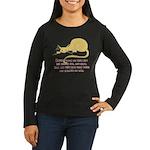 Sneaky Cats Women's Long Sleeve Dark T-Shirt