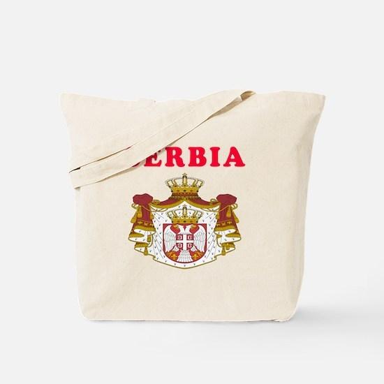 Serbia Coat Of Arms Designs Tote Bag