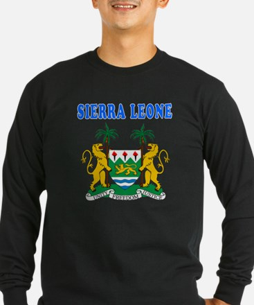 Sierra Leone Coat Of Arms Designs T