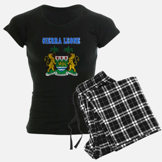 Sierra Leone Coat Of Arms Designs pajamas