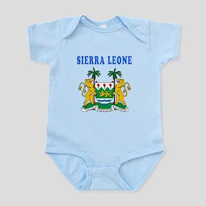 Sierra Leone Coat Of Arms Designs Infant Bodysuit