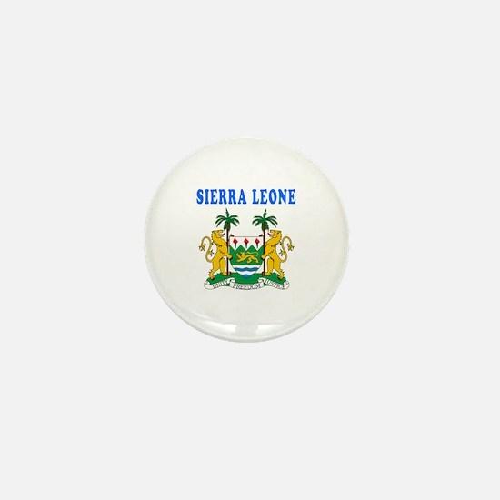 Sierra Leone Coat Of Arms Designs Mini Button