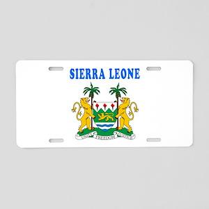 Sierra Leone Coat Of Arms Designs Aluminum License