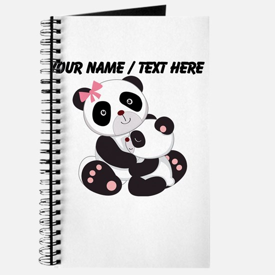 Custom Panda Baby And Mother Journal