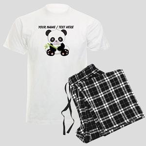 Custom Panda With Bamboo Pajamas