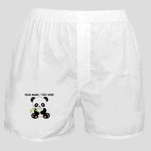 Custom Panda With Bamboo Boxer Shorts