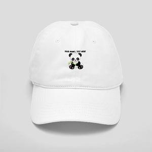 Custom Panda With Bamboo Baseball Cap