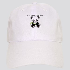 caa253edc36 Custom Panda With Bamboo Baseball Cap