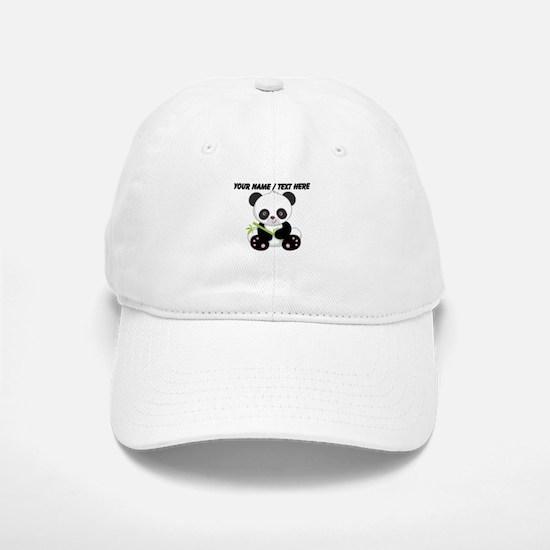 Custom Panda With Bamboo Baseball Baseball Baseball Cap