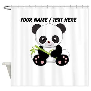 Panda Shower Curtains