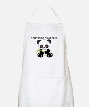 Custom Panda With Bamboo Apron