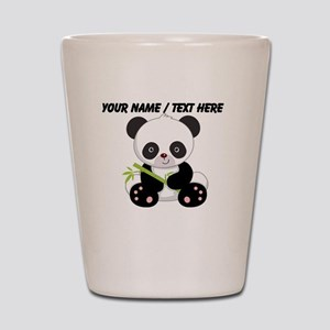 Custom Panda With Bamboo Shot Glass