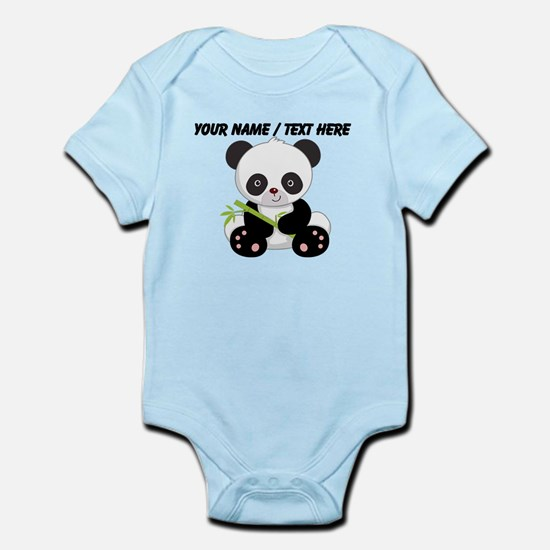 Custom Panda With Bamboo Body Suit