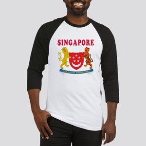 Singapore Coat Of Arms Designs Baseball Jersey