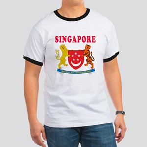 Singapore Coat Of Arms Designs Ringer T